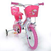 """Dino Bikes Bicicletta per Bambini Unicorn Rosa 12"""""""