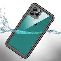 Cover impermeabile e resistente agli urti per iPhone 11 Pro - nera / g