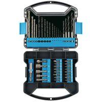 Draper Tools Punte da Trapano 41 pz con Kit Accessori