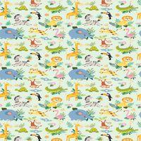 HOMEMANIA Tappeto Stampato Cute Animals