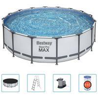 Bestway Set Piscina Steel Pro MAX 488 x 122 cm