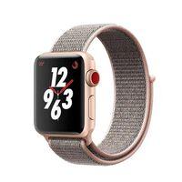 Cinturino extra in nylon per Apple Watch 38 mm - rosa