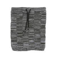 Cappello E Sciarpa Invernali Multifunzionali - Nero / Grigio
