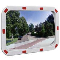 vidaXL Specchio Traffico Convesso Rettangolare 40x60cm Catarifrangenti