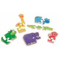 Beleduc Puzzle Happy Animal 18011