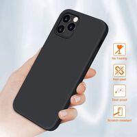 Cover mobile antiurto per iPhone 12/12 Pro Nera