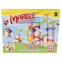 Marble racing Pista per Biglie Deluxe Marble Track Set 105 pz