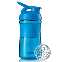 BlenderBottle Contenitore Shaker SportMixer 590 ml Ciano
