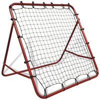 Rete elastica da calcio con rimbalzo 100 x 100 cm regolabile