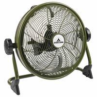 Bestron Ventilatore a Pavimento Esterni Ricaricabile AOD12ACCU Verde