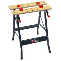 Draper Tools Banco da Lavoro Pieghevole Nero 68027