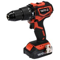 YATO Brushless Hammer Drill Driver with 2,0Ah Li-ion Battery 18V 42Nm