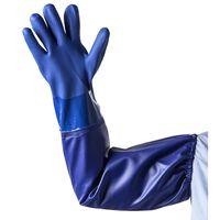 HEISSNER Guanto per la Pulizia del Laghetto XL Blu