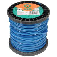 FLO Filo Tagliaerba 2,4 mm 90 m Blu