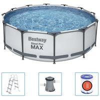 Bestway Set Piscina Steel Pro MAX 366x100 cm
