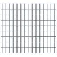 vidaXL 2D Pannelli Recinzione Giardino 2,008x1,83m 40m (Totale) Grigio