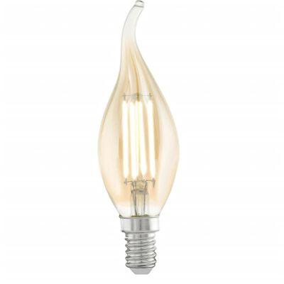 EGLO Amber 11559 Lampadina a LED stile Vintage E14 CF37