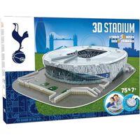 Nanostad Set Puzzle 3D 75 pezzi Tottenham Hotspur Stadium