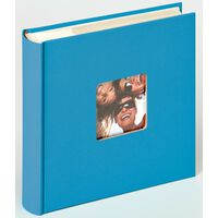 Walther Design Album Fotografico Fun Memo 10x15cm Blu Oceano 200 Foto