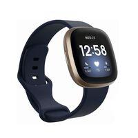 Bracciale Fitbit Sense / Versa 3 Blu scuro (L)