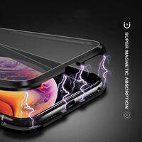 Custodia per telefono magnetica a doppia faccia Samsung Galaxy S9 Plus