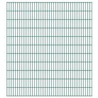 vidaXL 2D Pannelli Recinzione Giardino 2,008x2,23 m 24m (Totale) Verde