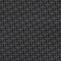 Alloy Swiss Cross-rs Mosaico Metallo Solido Acciaio Grezzo Grigio