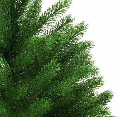 vidaXL Albero di Natale Artificiale con Aghi Realistici 240 cm Verde