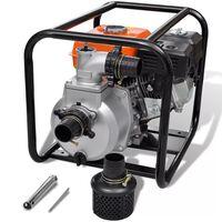 vidaXL Pompa d'Acqua con Motore a Benzina 50 mm Raccordo 6,5 HP