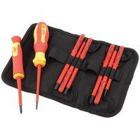 Draper Tools Set 10 Pz VDE Cacciaviti Isolati e Lame 05721