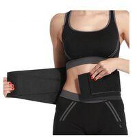 Cintura da allenamento per allenamento in vita Nero (XL)