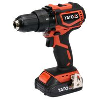 YATO Brushless Drill Driver with 2,0Ah Li-ion Battery 18V 42Nm