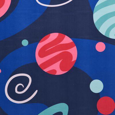 vidaXL Tappeto Stampato Multicolore 160x230 cm in Tessuto