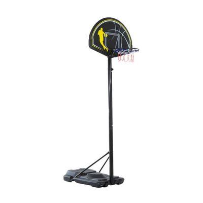 HomCom Canestro da Basket Altezza Regolabile in Acciaio con Base