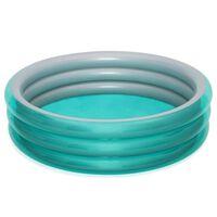 Bestway Piscina Big Metallic Rotonda 201x53 cm Blu