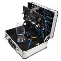 Scheppach Set di Attrezzi 101 pz TB150 con Custodia in Alluminio