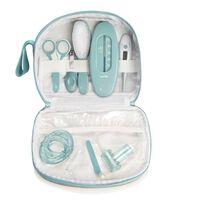 Babymoov Kit per la Cura del Bambino Aqua 9 pz Grigio e Blu