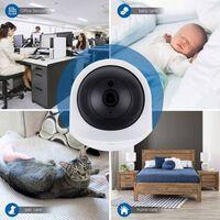 Telecamera di sorveglianza wireless - Full HD, 360 gradi, rilevatore d