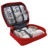 Travelsafe Kit di Pronto Soccorso 23 pz Globe Basic Rosso
