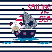 HOMEMANIA Tappeto Stampato Catch The Sea