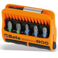 Beta Tools Set Punte con Supporti Magnetici 10 pz 860MIX/A10
