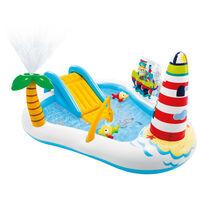 Intex Piscina per Bambini Fishing Fun 218x188x99 cm