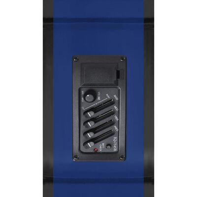 vidaXL Chitarra Acustica Western con Equalizzatore e 6 Corde Blu