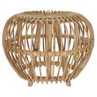 Home&Styling Sgabello Brussel in Rattan Kubu Naturale