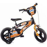 """Dino Bikes Bicicletta per Bambini BMX Arancione 12"""""""