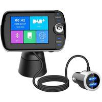 Trasmettitore FM wireless Bluetooth LCD con vivavoce USB MP3 per l'aut