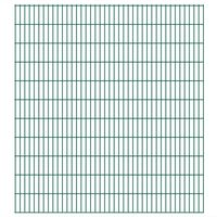 vidaXL 2D Pannelli Recinzione Giardino 2,008x2,23 m 30m (Totale) Verde