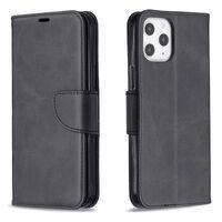 Cover per cellulare iPhone 12 Pro Max con slot per schede Nero