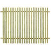 vidaXL Recinzione da Giardino in Legno di Pino Impregnato 170x125 cm