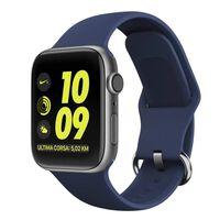Cinturino in silicone per Apple Watch 38/40 - Blu scuro
